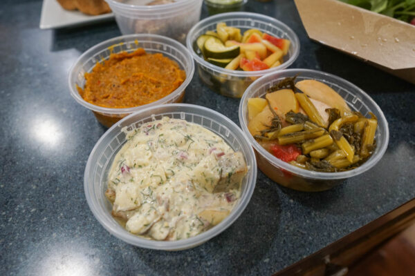 Spreads, Sides, and Pickled Vegetables from Fet Fisk