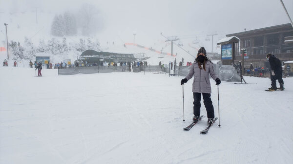 Skiing at Seven Springs in 2020