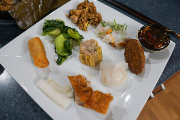 Individual Bites from The Parlor Dim Sum