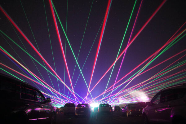 Laser Light Show at North Park