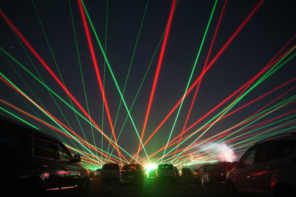 North Park Laser Show