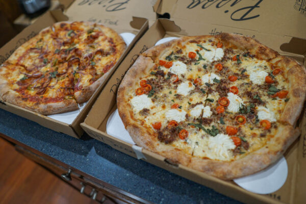 Pies from Pizza Lupo Pittsburgh