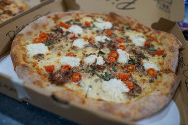 Pizza Lupo White Pie