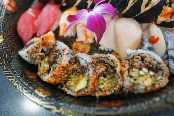 Spider Roll at Mount Everest Sushi
