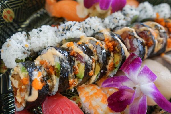 Mount Everest Sushi Roll (Namesake)