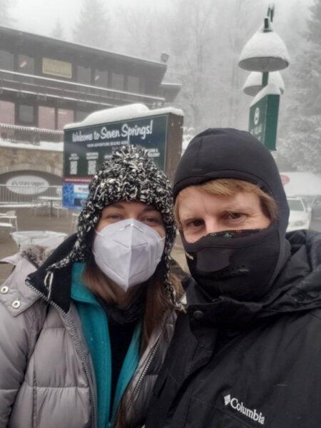 Skiing at Seven Springs