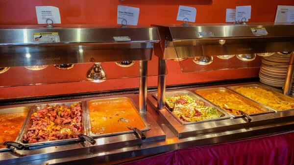 Taj Mahal Lunch Buffet
