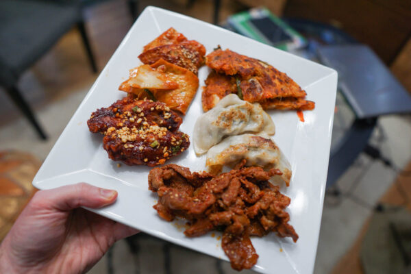 Korean Feast from Nak Wan Garden Pittsburgh