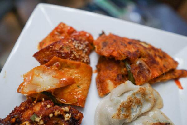 Korean Appetizers from Nak Won Garden