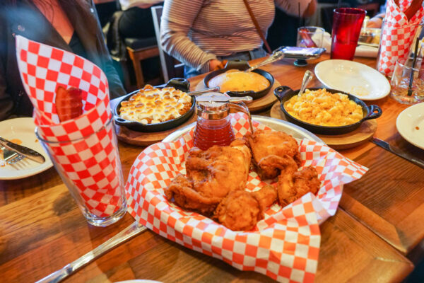 Fried Chicken and Southern Sides at The Eagle Pittsburgh