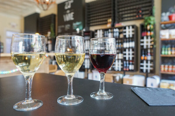 Wine Flight at 23rd & Vine