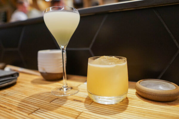 Whiskey and Gin Cocktails from Gi-Jin Pittsburgh