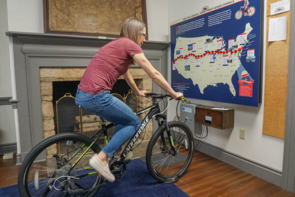 Pedaling Coast to Coast at the Lincoln Highway Experience