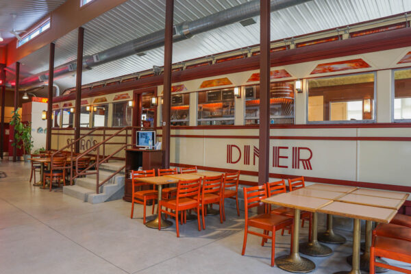 Serro's Diner at the Lincoln Highway Experience