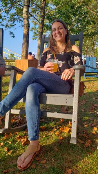 Beer at the Allegheny Overlook
