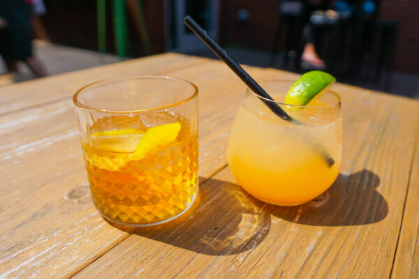 Summer Old Fashioned and Grapefruit Gin & Juice