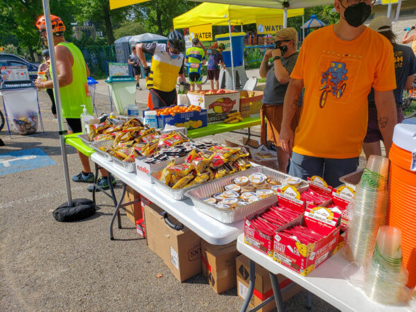 Snack Stations Were a Saving Grace from PedalPGH