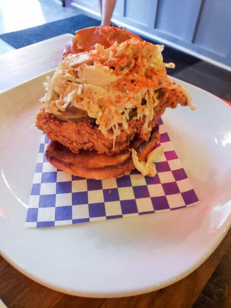 Fried Chicken Sandwich from Nanban