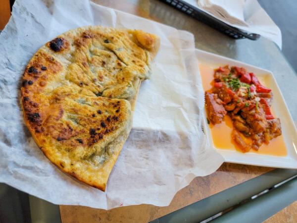 Afghan Appetizers at Afghan Kabab House in Carnegie