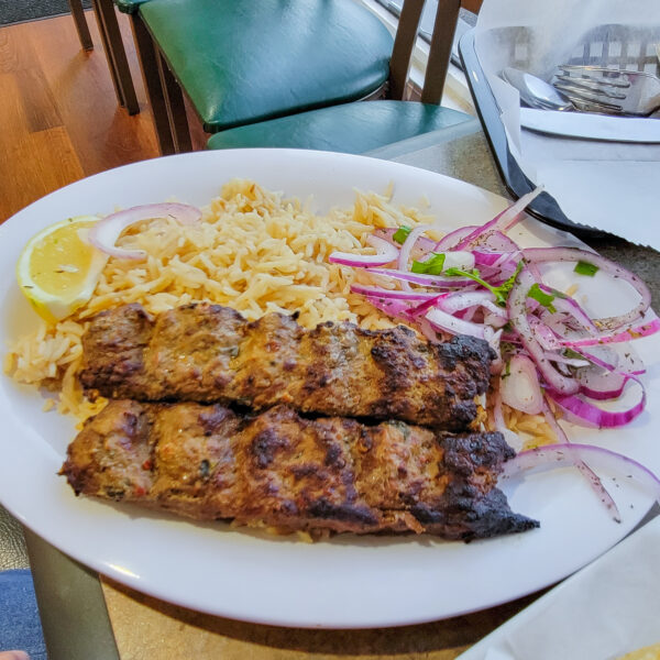 Beef Kabab from Afghan Kabab House