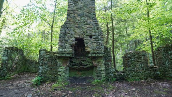 Old Cabin Ruins at Linn Run