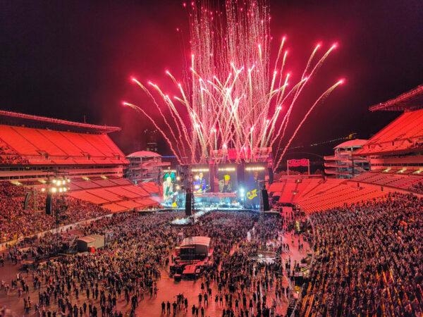 Rolling Stones Finale at Heinz Field Concert